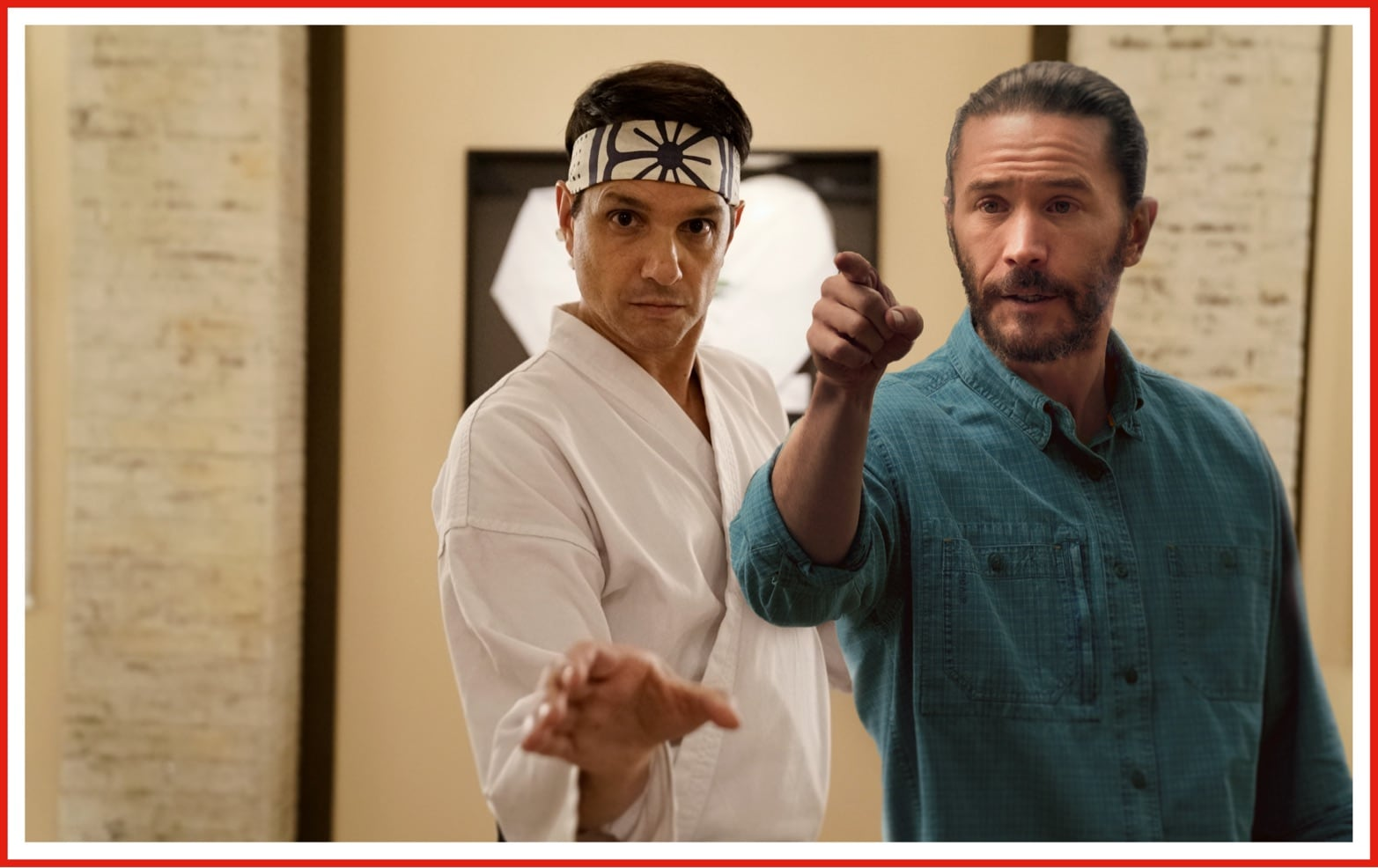 Tom Pelphrey as Ben Davis from Ozark makes an imagined cameo in one of his favorite series this year, Cobra Kai.