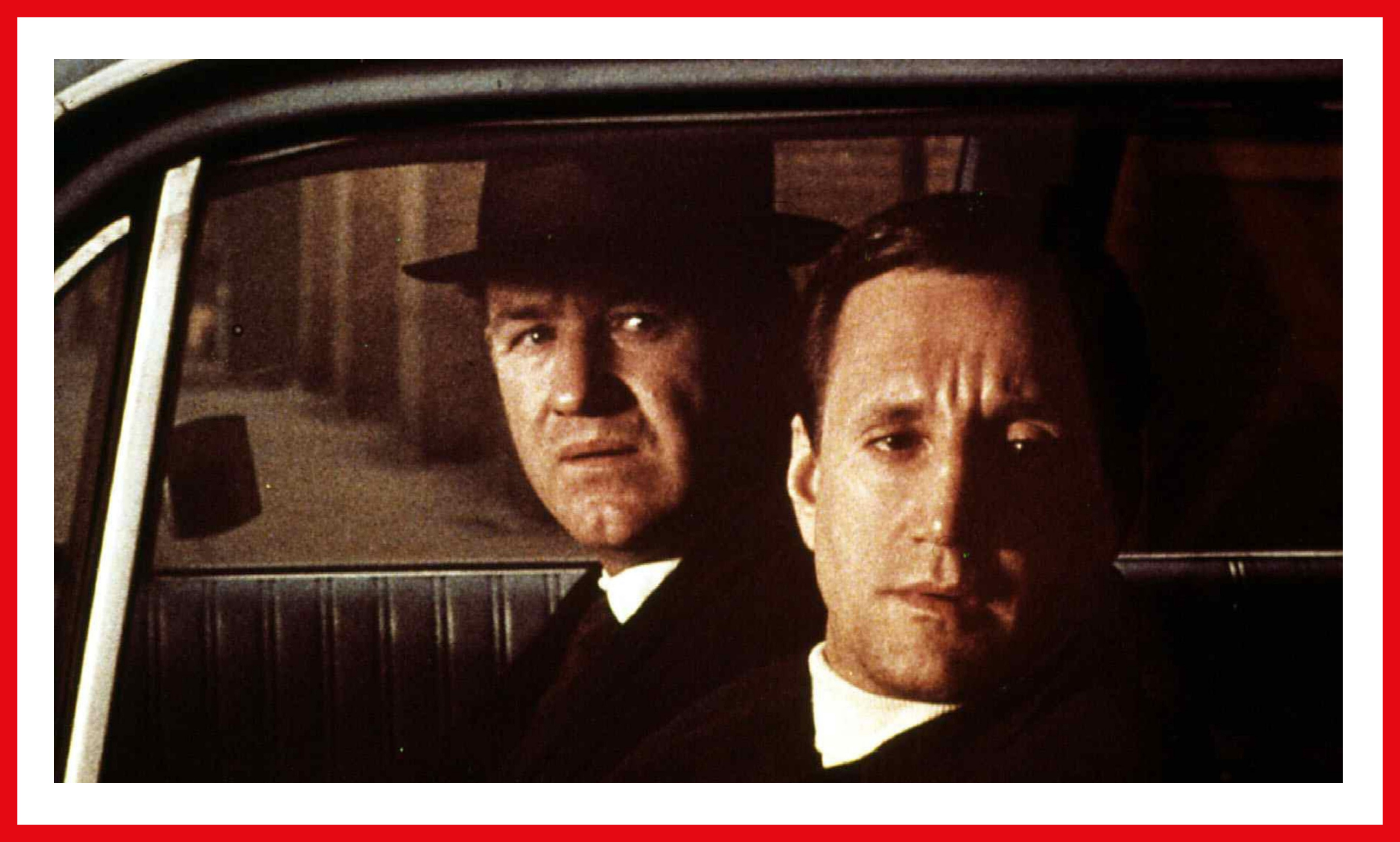 Hackman and Scheider seem to be on to something as Jimmy Doyle and Buddy Russo.