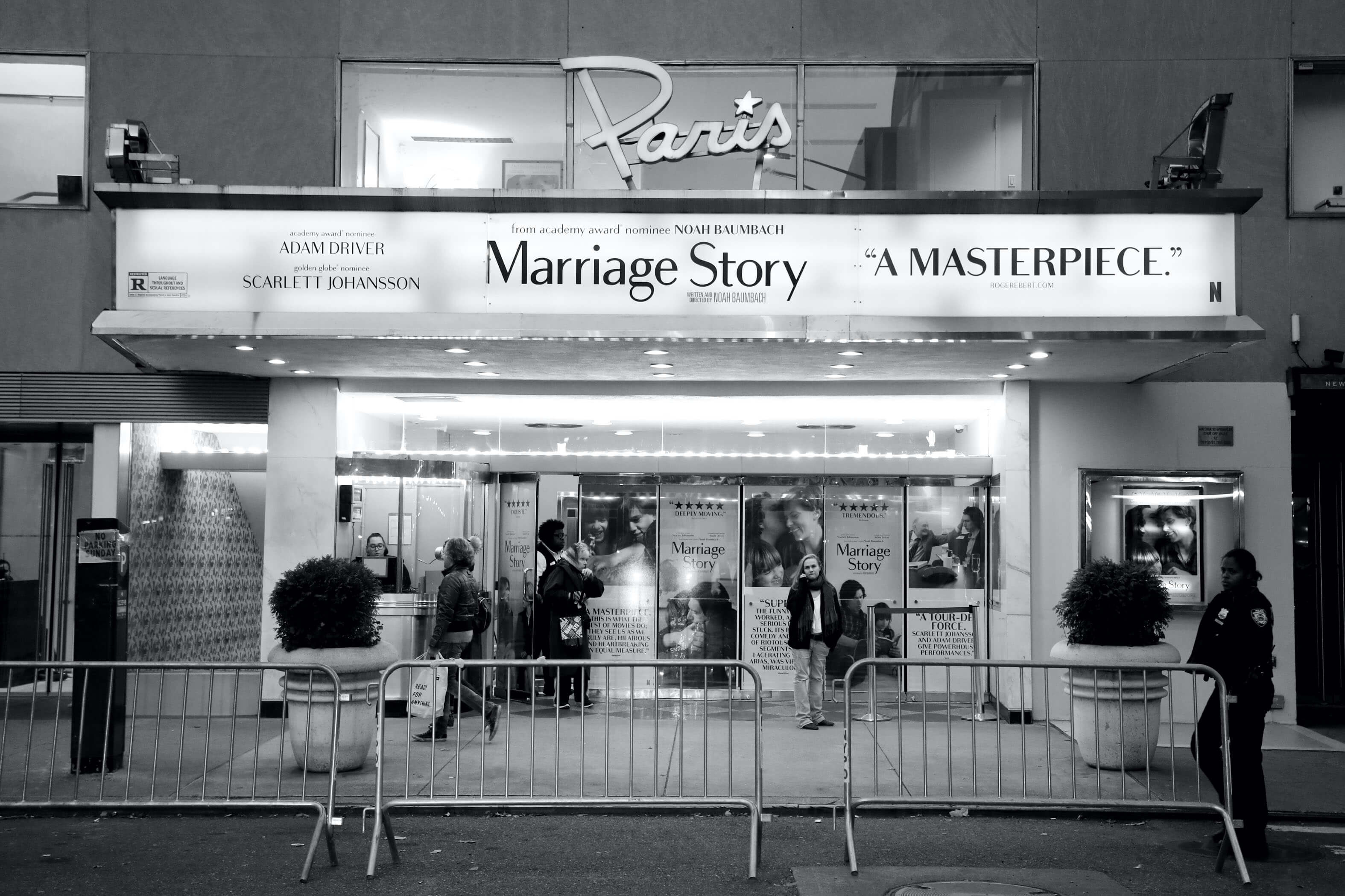 Marriage Story at Paris credit Marion Curtis
