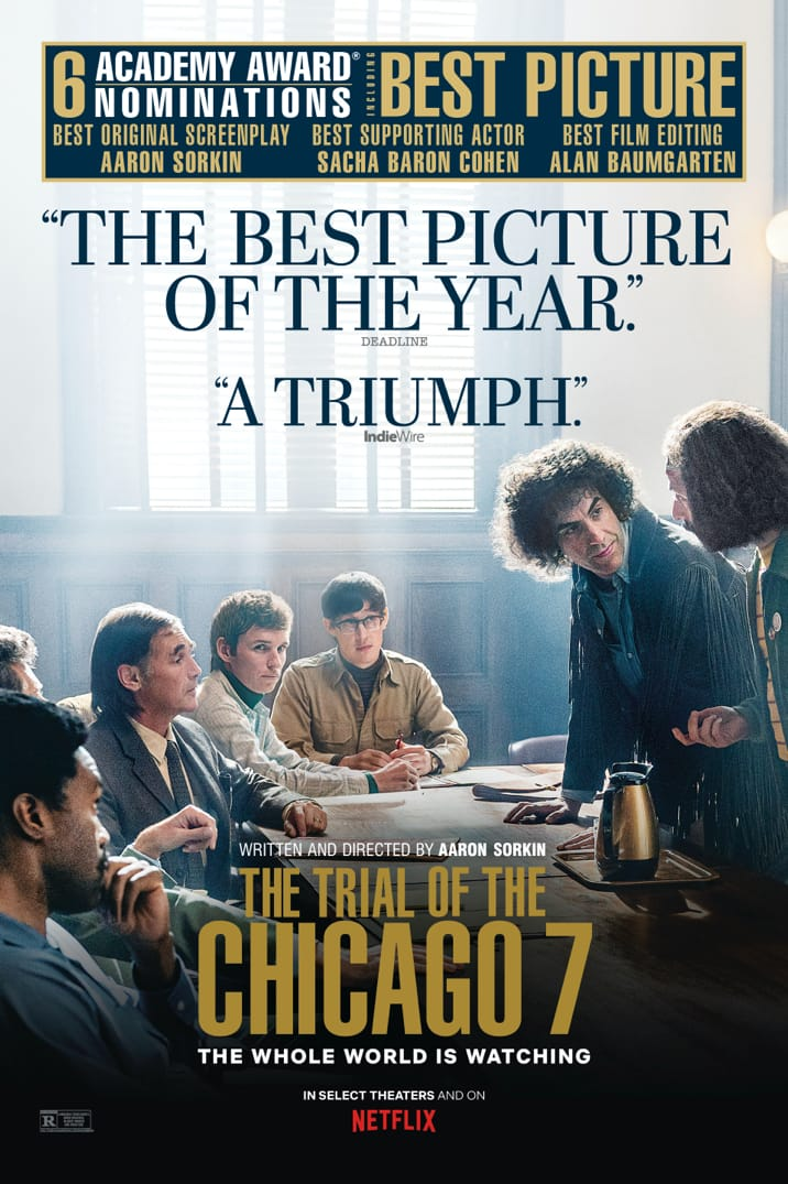 Poster image for The Trial of the Chicago 7