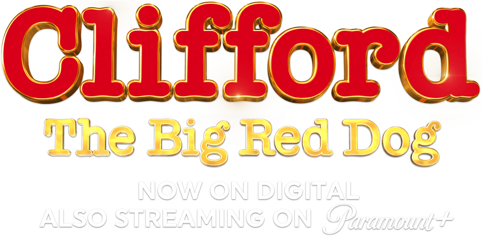 Title or logo for Clifford the Big Red Dog