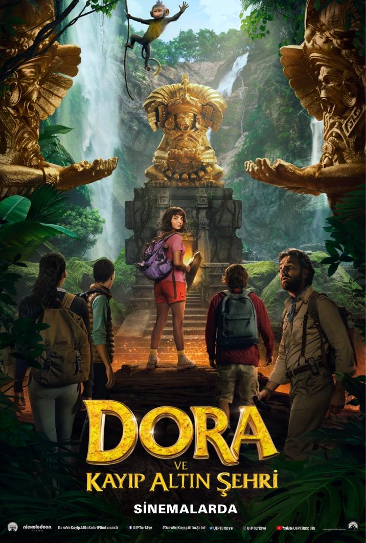 Poster for Dora Ve Kayip Altin Şehri̇