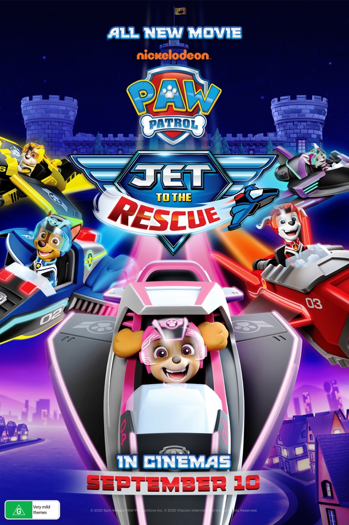 Poster image for Paw Patrol: Jet to the Rescue
