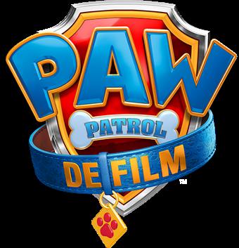 Titel of logo voor PAW Patrol: De Film