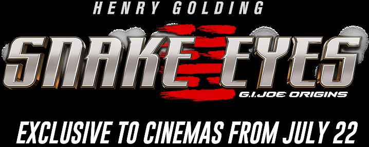 Title or logo for Snake Eyes: G.I. Joe Origins