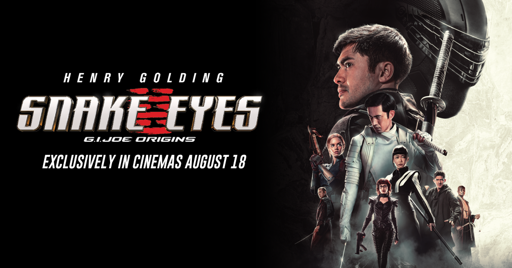 Snake Eyes G.I. Joe Origins 2021 banner HDMoviesFair