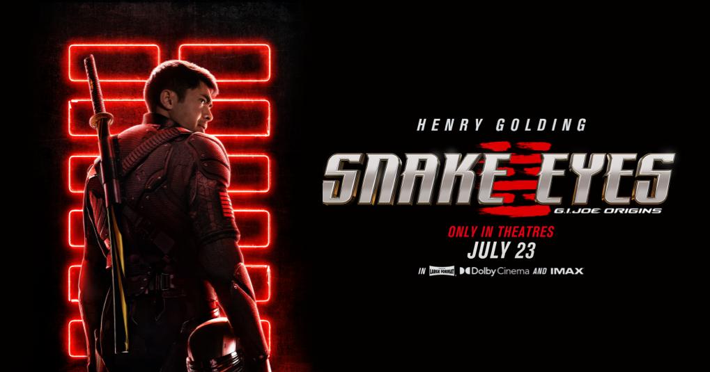 Snake Eyes: G.I. Joe Origins | Paramount Pictures