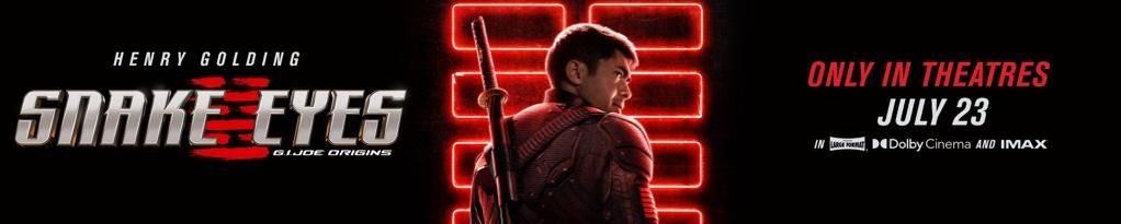 Poster image for Snake Eyes: G.I. Joe Origins