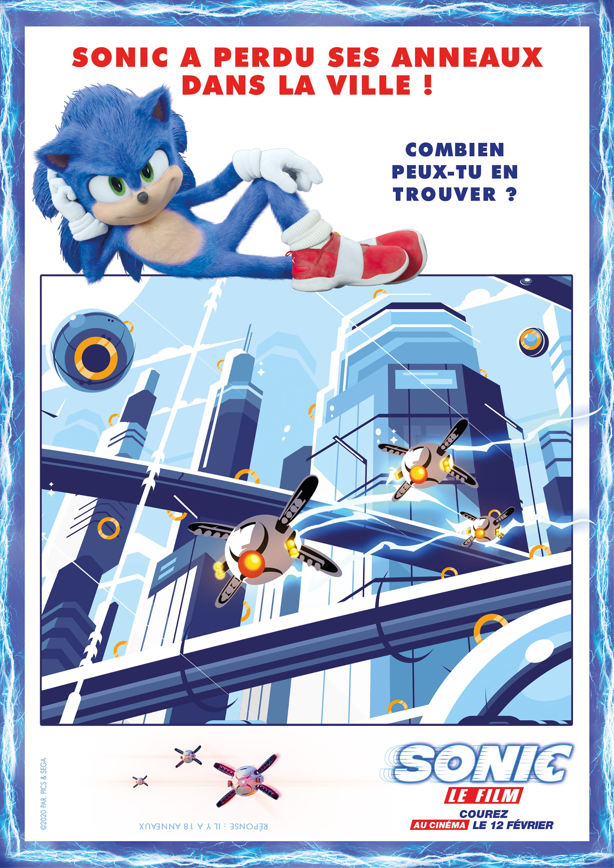 Image 1 of the Sonic Le Film gallery