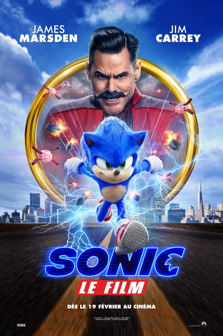 Poster image for Sonic Le Film