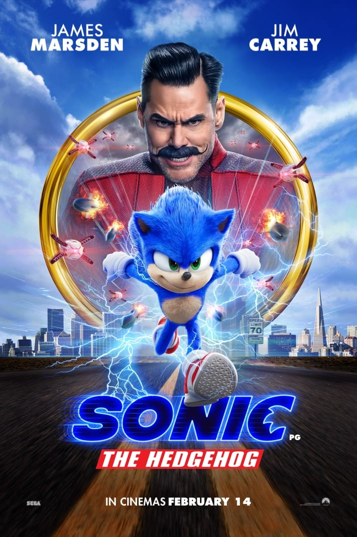 Poster image for Sonic The Hedgehog