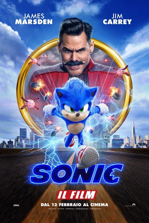 Poster di Sonic Il Film