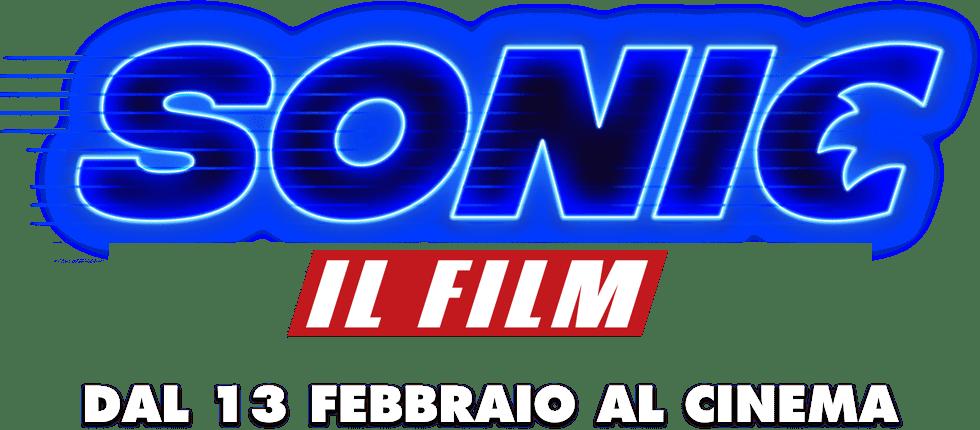Logo titolo di Sonic Il Film