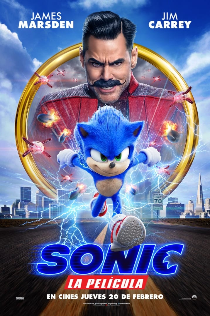 Poster image for Sonic La Pelicula