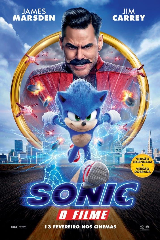 Poster de Sonic O Filme