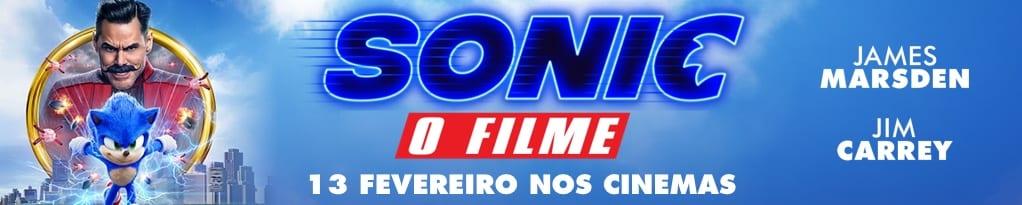 Banner de Sonic O Filme