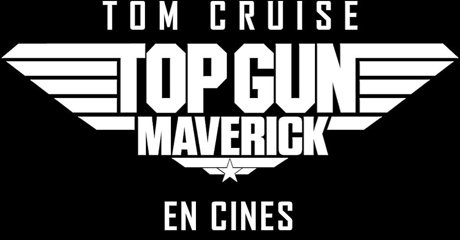 Title or logo for Top Gun: Maverick