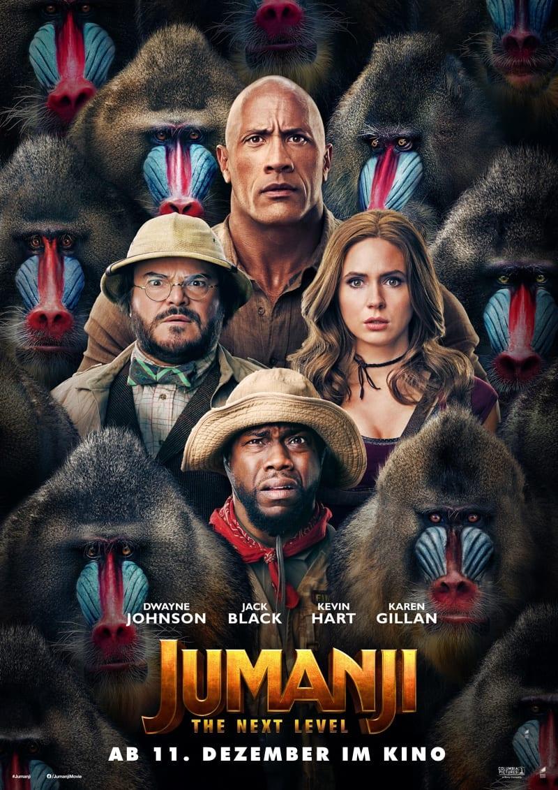 Jumanji: The Next Level Filmplakat