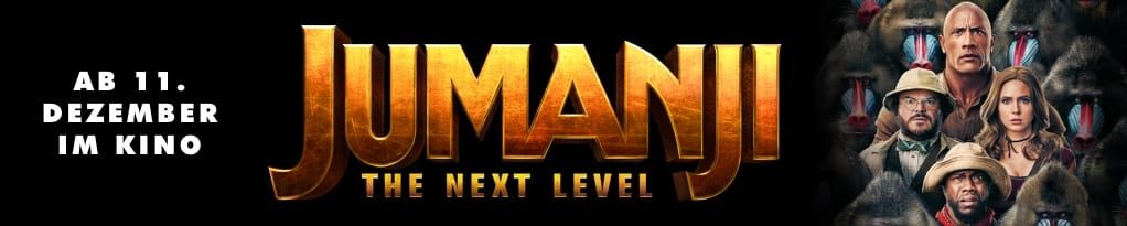 Jumanji: The Next Level Banner