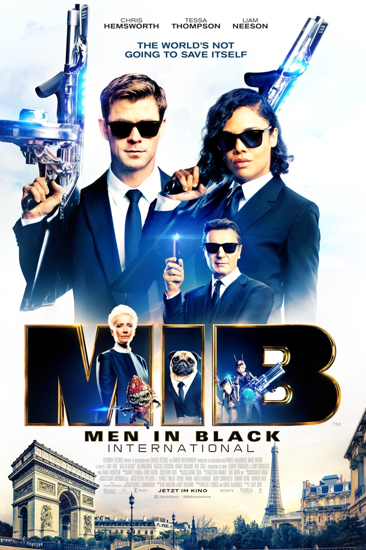 Poster for Men In Black: International