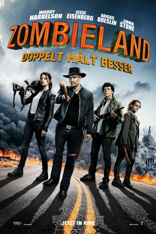 ZOMBIELAND: DOPPELT HÄLT BESSER Filmplakat