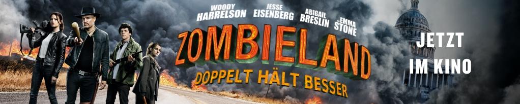 ZOMBIELAND: DOPPELT HÄLT BESSER Banner