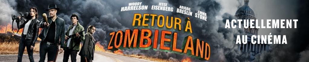 Bannière du film RETOUR à ZOMBIELAND