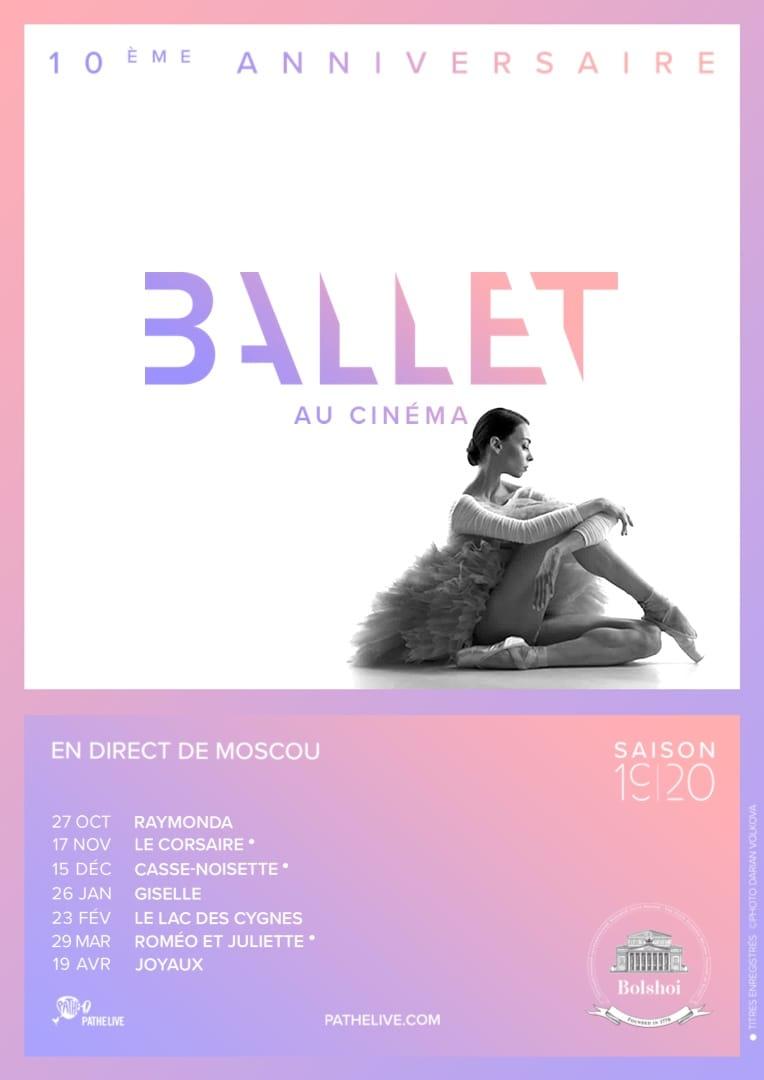 Poster for Ballet du Bolchoï 19/20 au cinéma