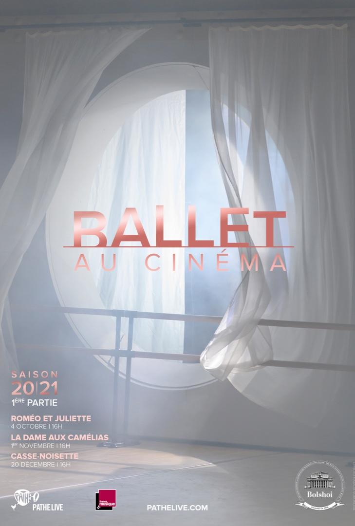 Affiche du film Ballet du Bolchoï 20/21 au cinéma