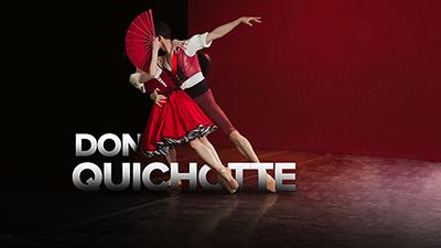 **DON QUICHOTTE**  Les Étoiles Ekaterina Krysanova et Semyon Chudin vous emmènent dans une aventure exaltante en quête d'amour parmi des personnages attachants hauts en couleurs. Un incontournable du Bolchoï d'une grande virtuosité technique.
