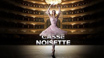 **CASSE-NOISETTE**  La veille de Noël, le Casse-Noisette de Marie se transforme en Prince charmant, commence alors une aventure merveilleuse. Le ballet féérique pour toute la famille sera retransmis en direct de Moscou.
