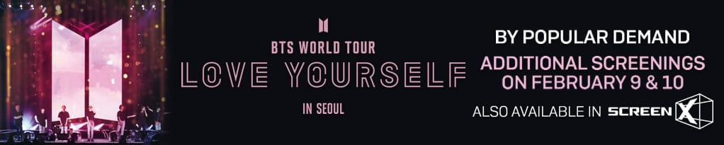 Bts World Tour Love Yourself In Seoul Get Tickets Pathe Live