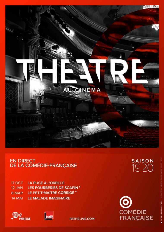 Affiche du film Comédie-Française 19/20 au cinéma