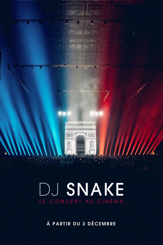Affiche du film DJ Snake - Le concert au cinéma