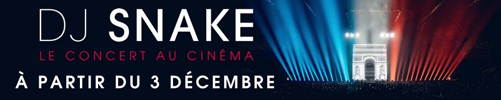 Bannière du film DJ Snake - Le concert au cinéma