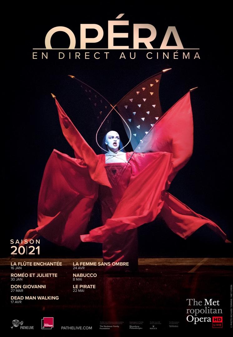 Affiche du film Metropolitan Opera 20/21 au cinéma