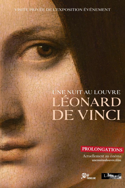 Affiche du film Une nuit au Louvre: Léonard de Vinci