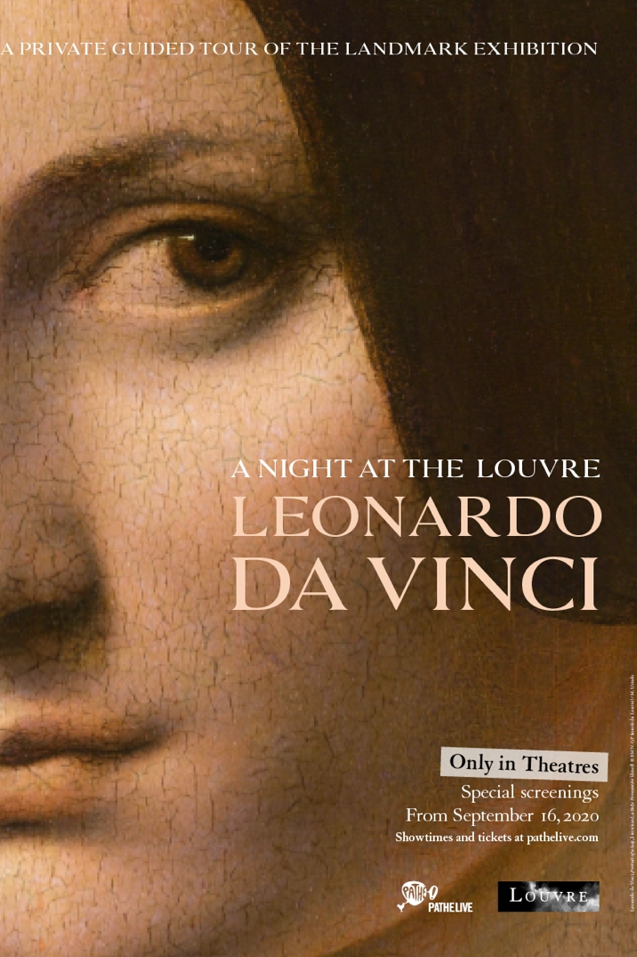 Poster image for Night at the Louvre: Leonardo Da Vinci