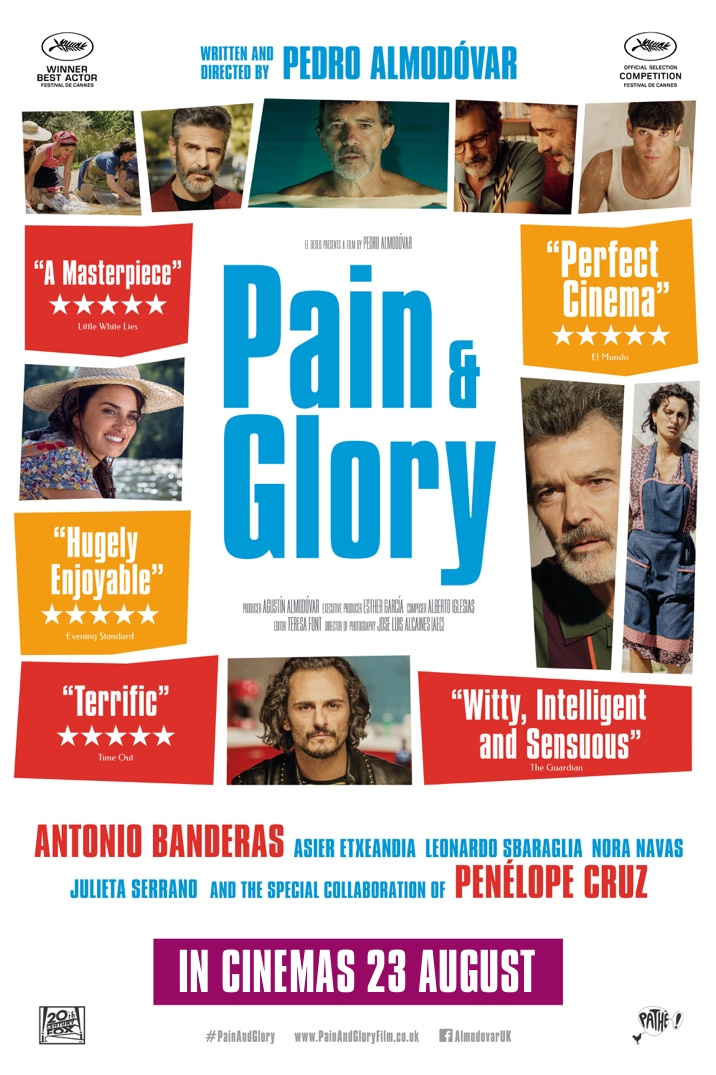 Poster for Pain & Glory