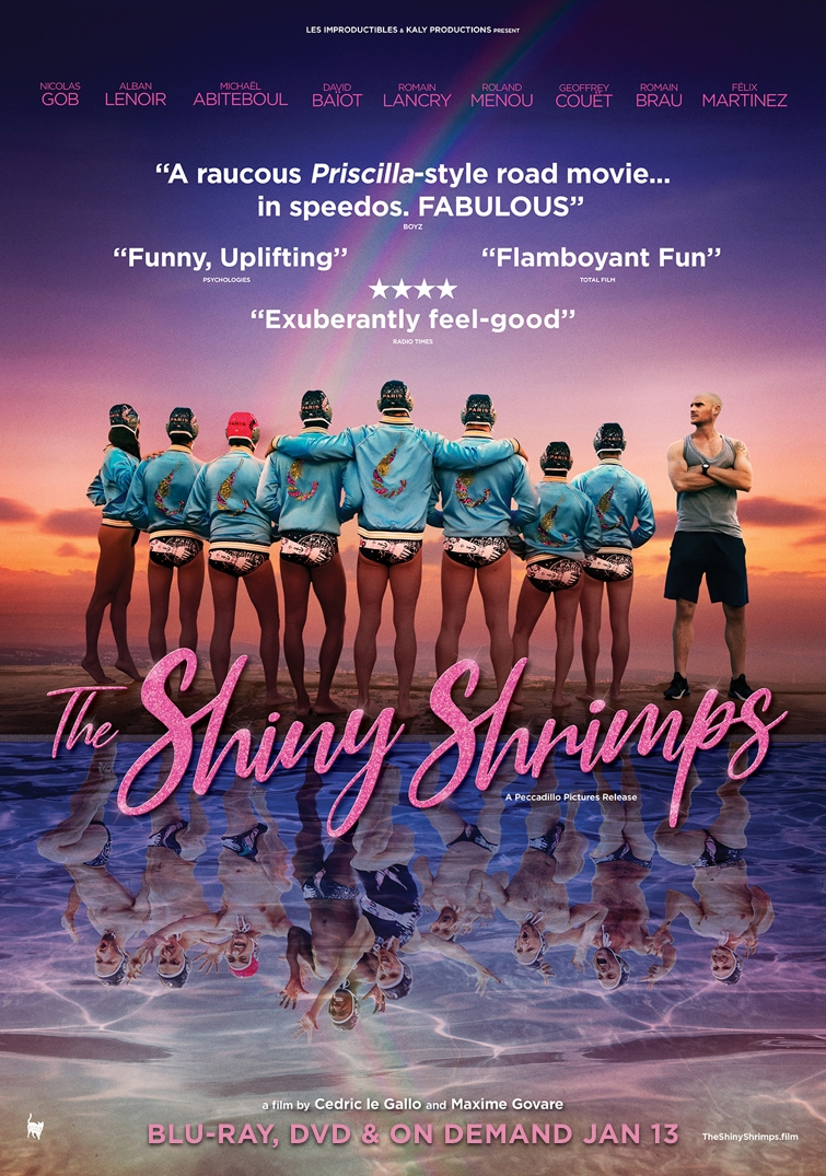 Poster for The Shiny Shrimps
