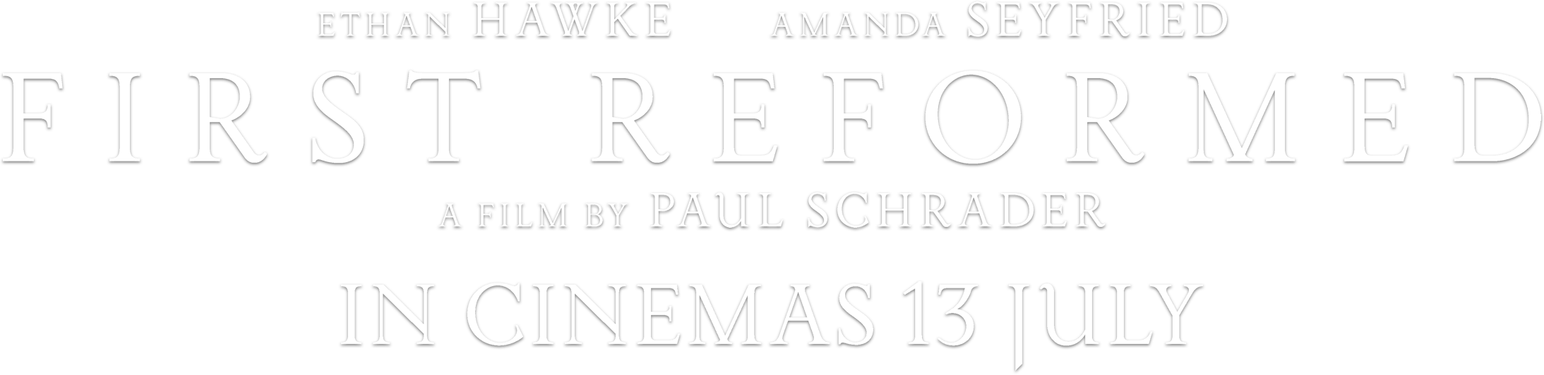 First Reformed : Synopsis | Picturehouse Entertainment
