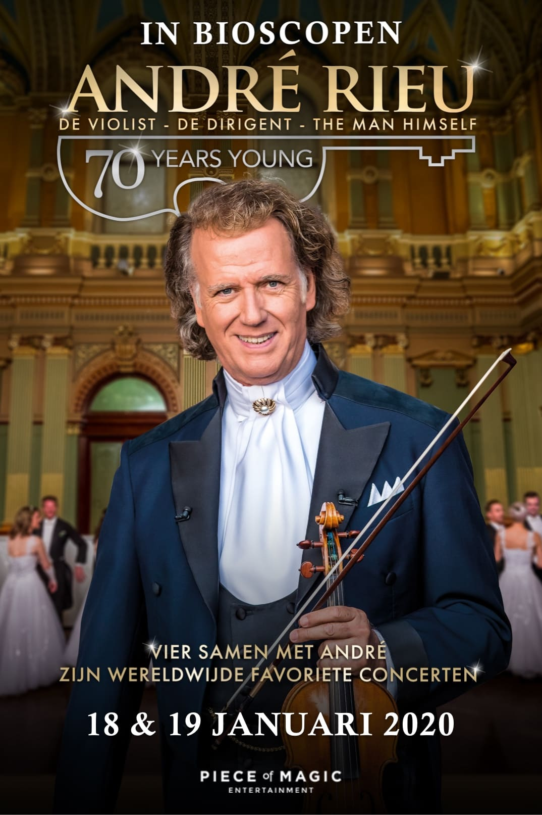 Poster for André Rieu: 70 Years Young