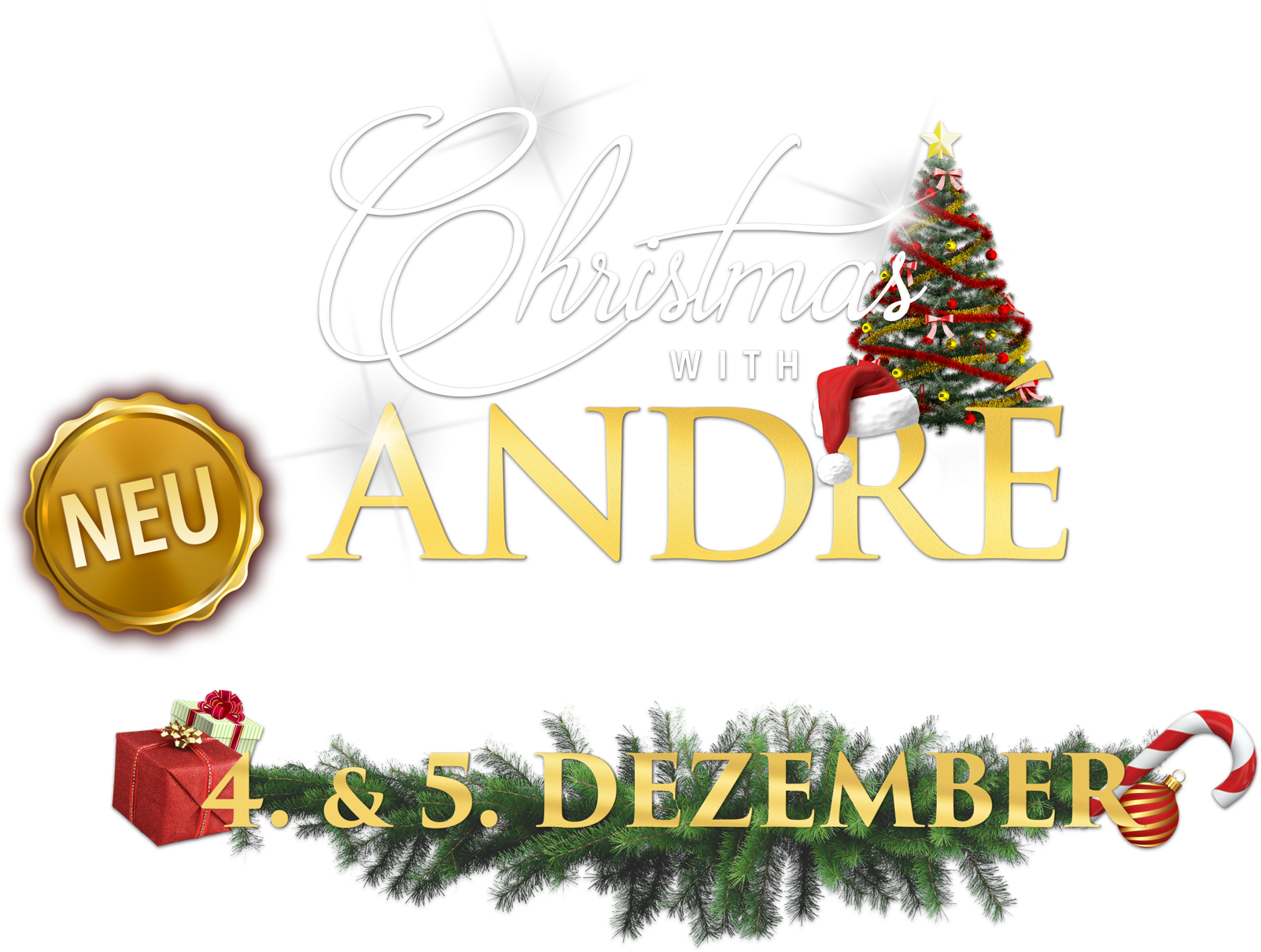 Title or logo for André Rieu: Christmas with André