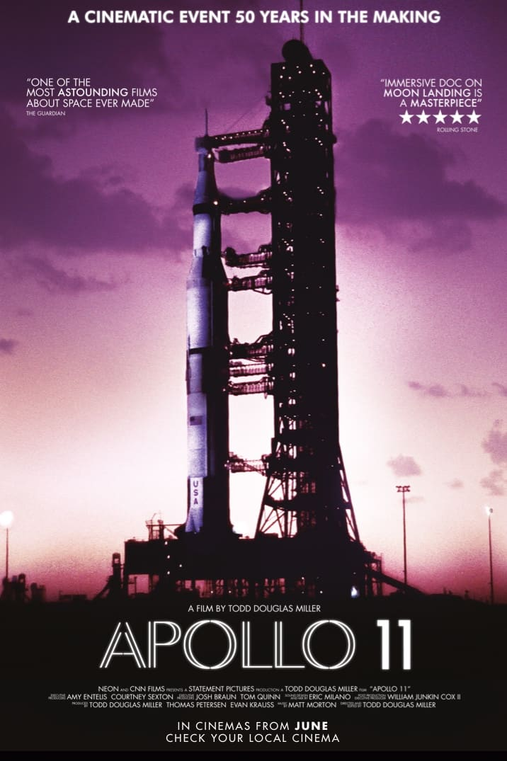 Poster for Apollo 11