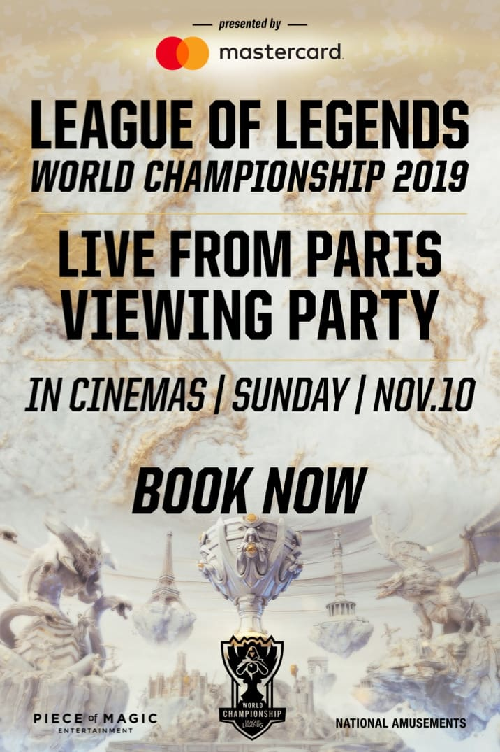 Poster image for League Of Legends World Championship 2019