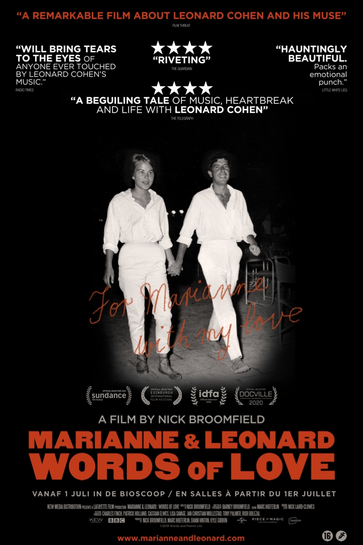 Poster image for Marianne & Leonard Words of Love