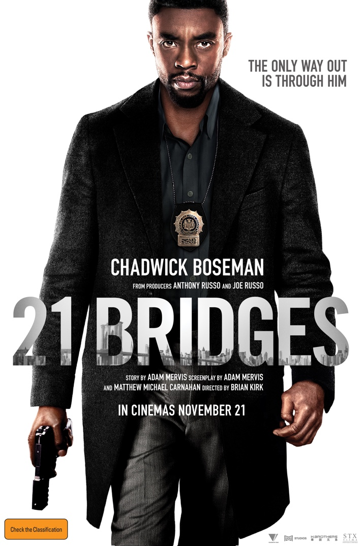 Poster image for 21 Bridges