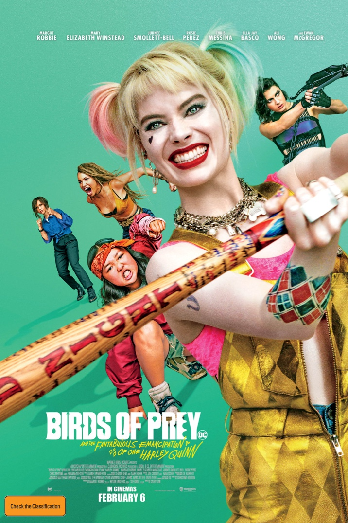 Poster image for Birds of Prey (and the Fantabulous Emancipation of One Harley Quinn)