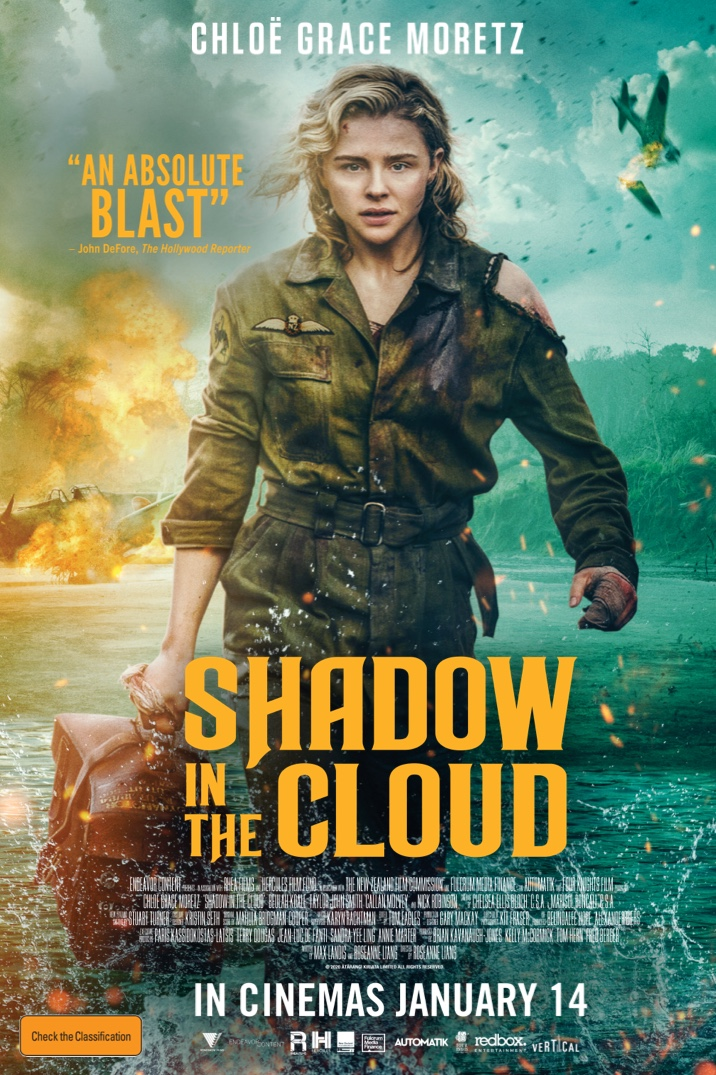 Poster image for Shadow in the Cloud