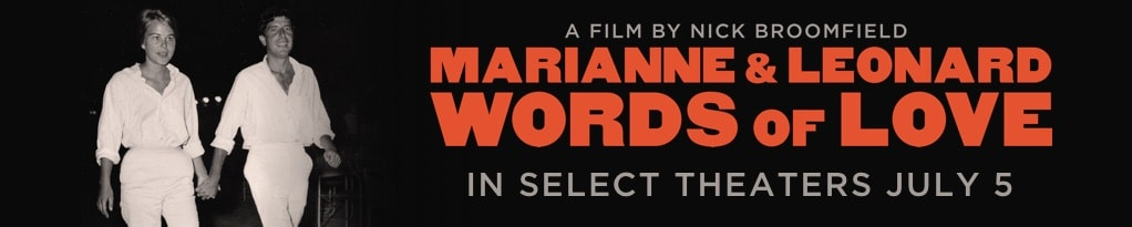 Poster for Marianne & Leonard Words of Love